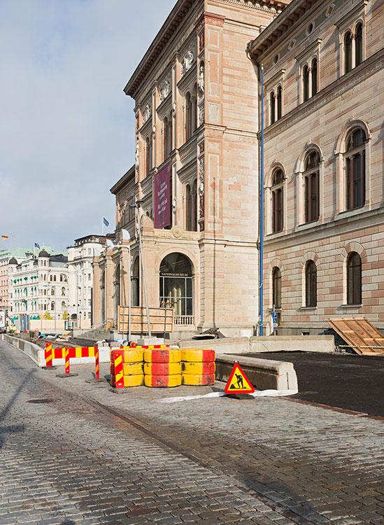Blasieholmskajen, Stockholm 2014