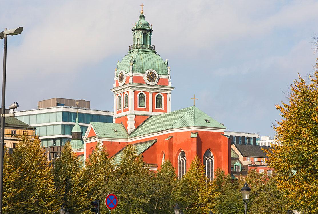Jakobskirche, Stockholm 2014