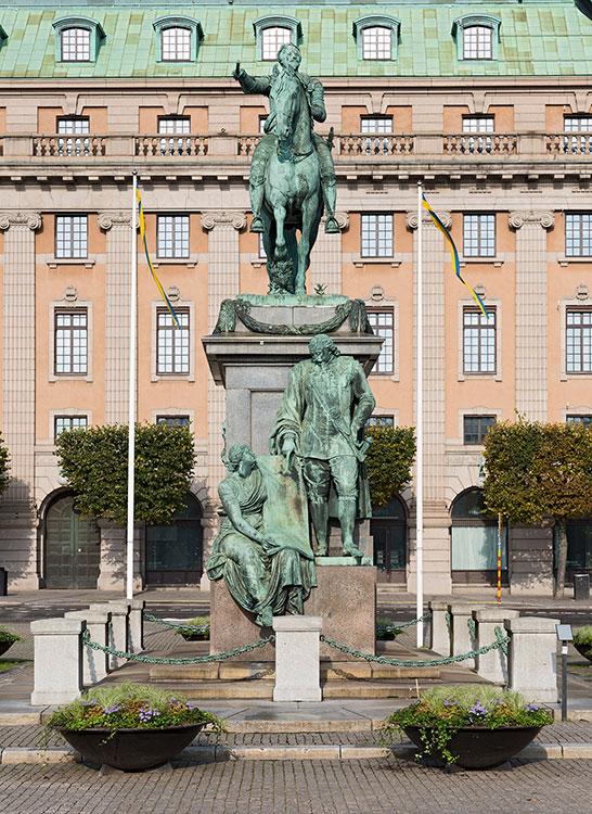 Gustav Adolfs Platz, Stockholm 2014