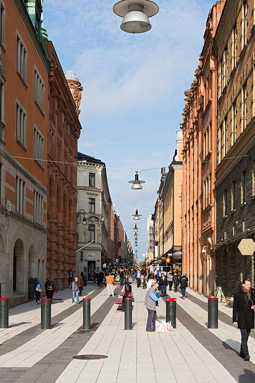 Drottninggatan, Stockholm 2014