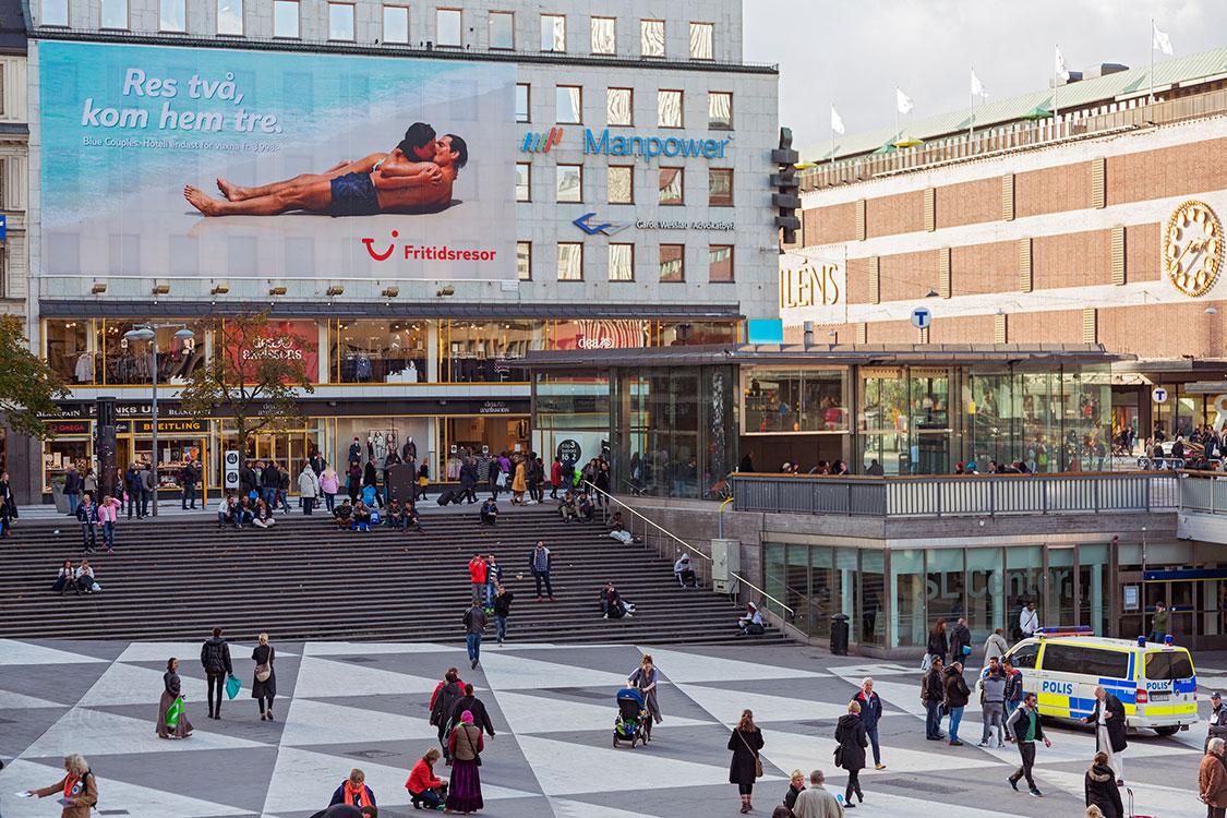 Sergels Torg, Stockholm 2014