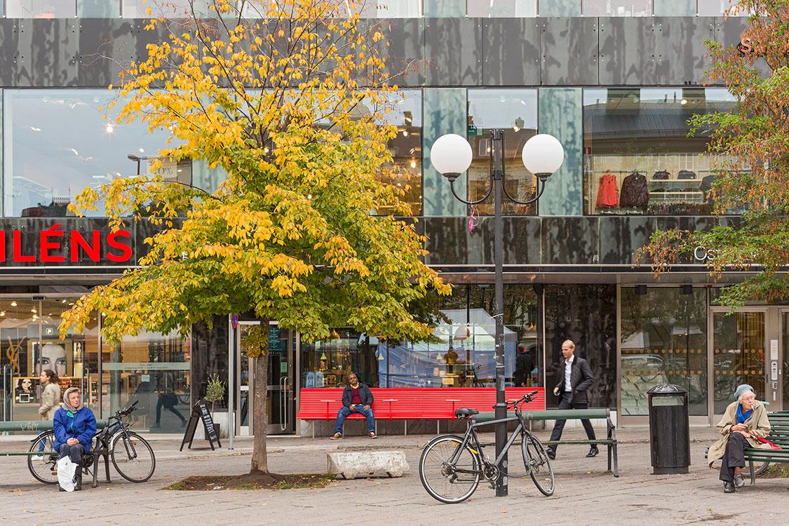 Östermalmstorg, Stockholm 2014