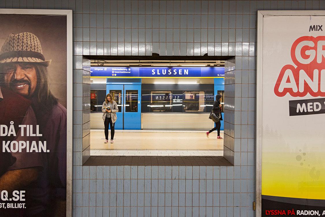 Slussen, Stockholm 2014