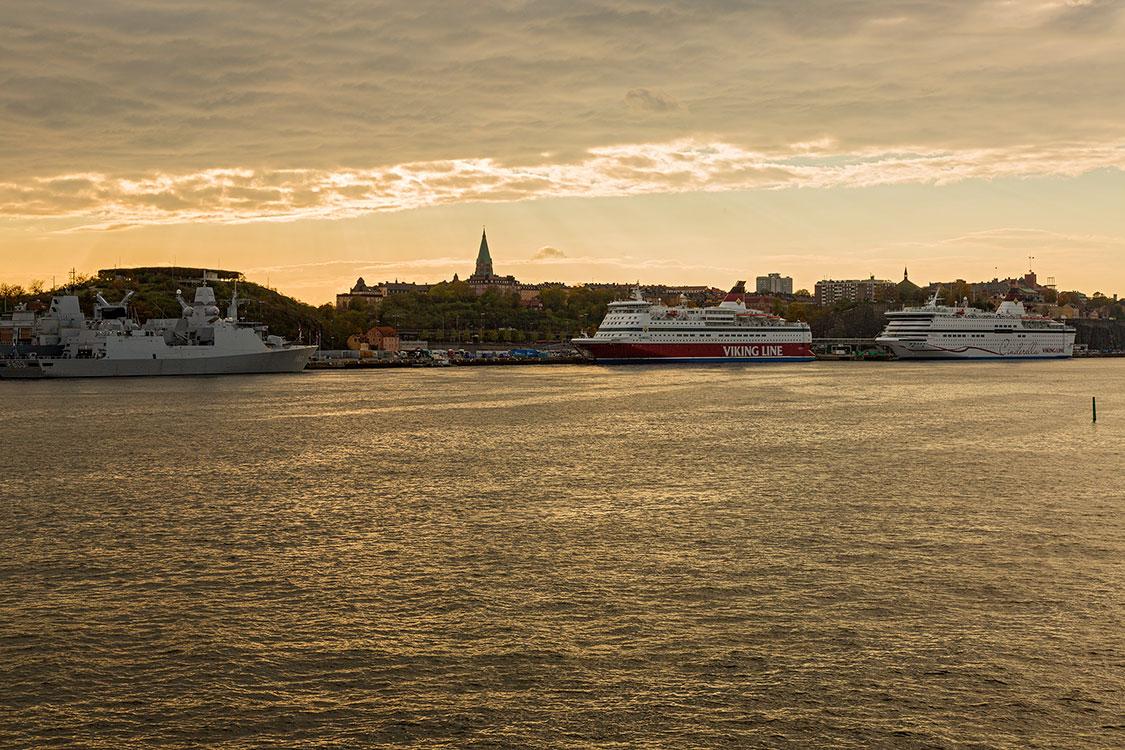 Saltsjön, Södermalm, Stockholm 2014