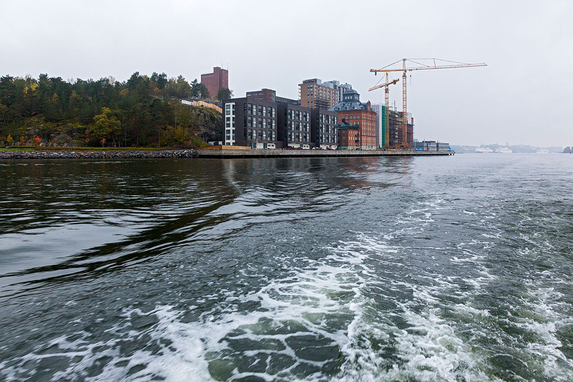 Saltsjö, Kvarnholmen, Stockholm 2014