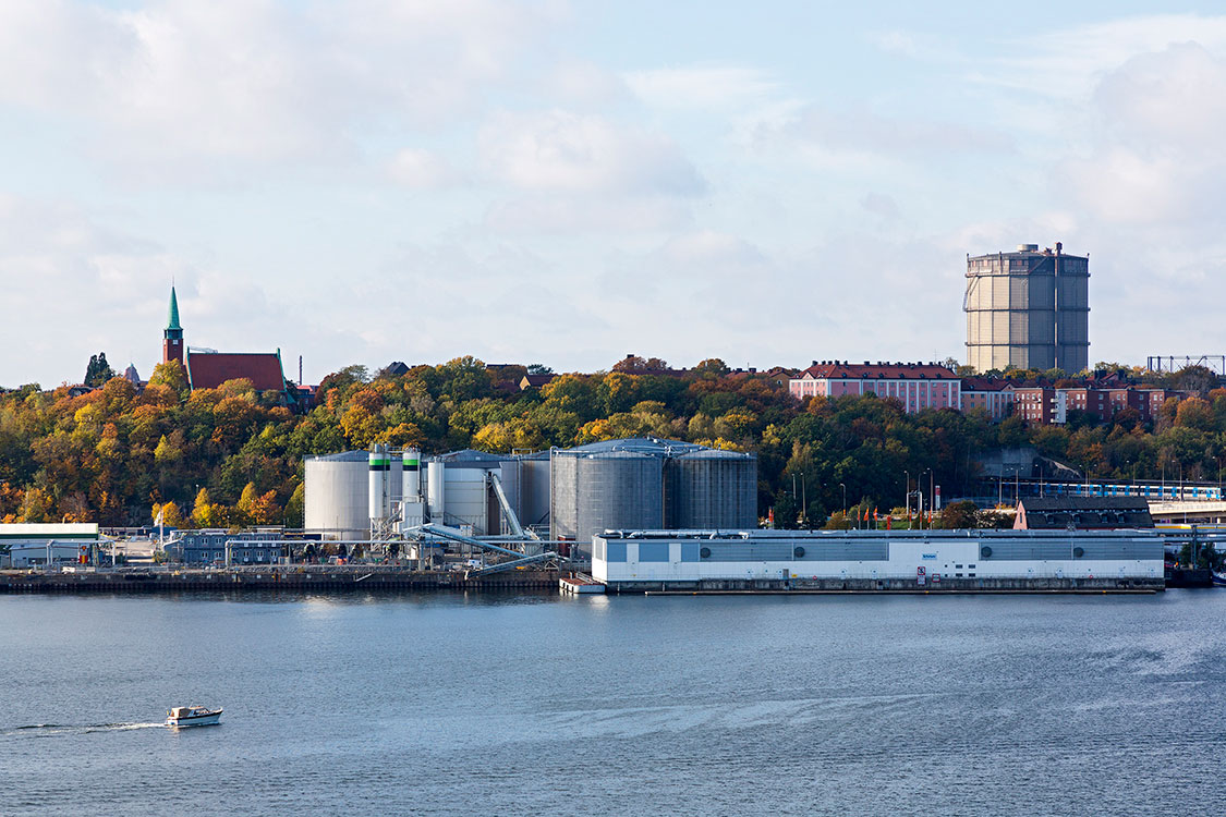 Värtahamnen, Stockholm 2014