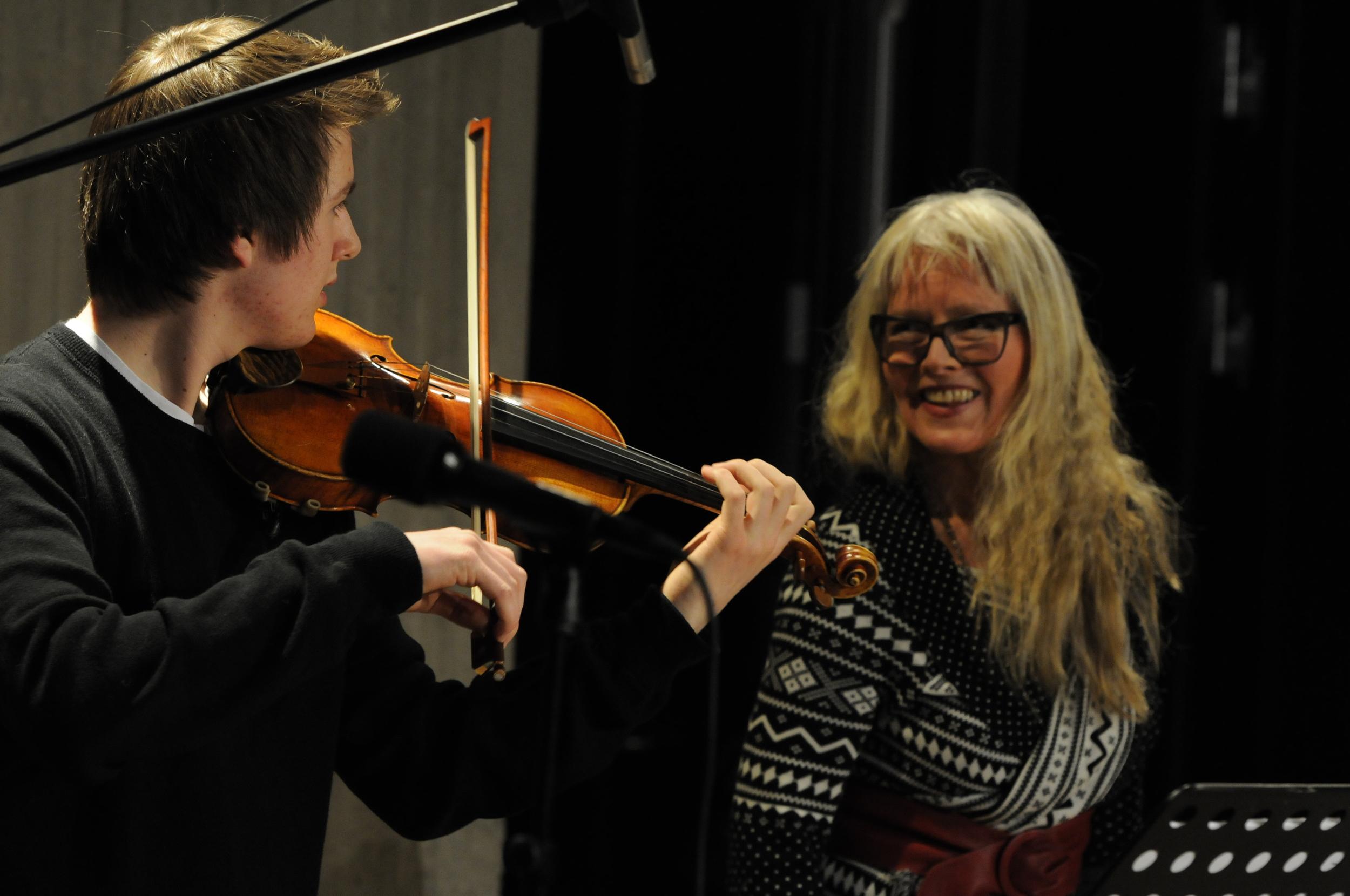 Andris Hemsing og MS, Valdres (2012) Foto: Ingvar Skattebu