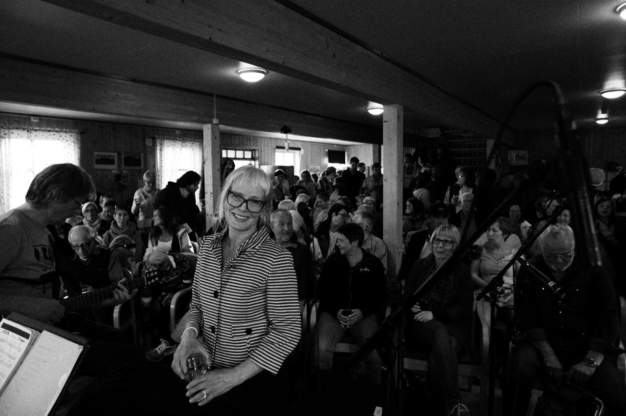 Marit Sandvik & Nova Onda konsert på Hella, Tromsø2015.Foto: Simen Vangen