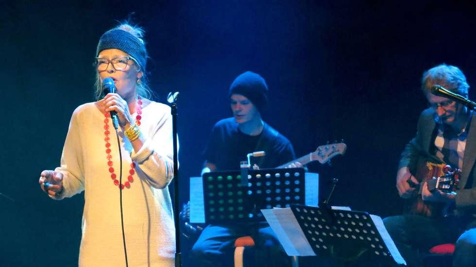 Marit Sandvik & Nova Onda konsert i Tromsø 2014. Foto: Helge Matland