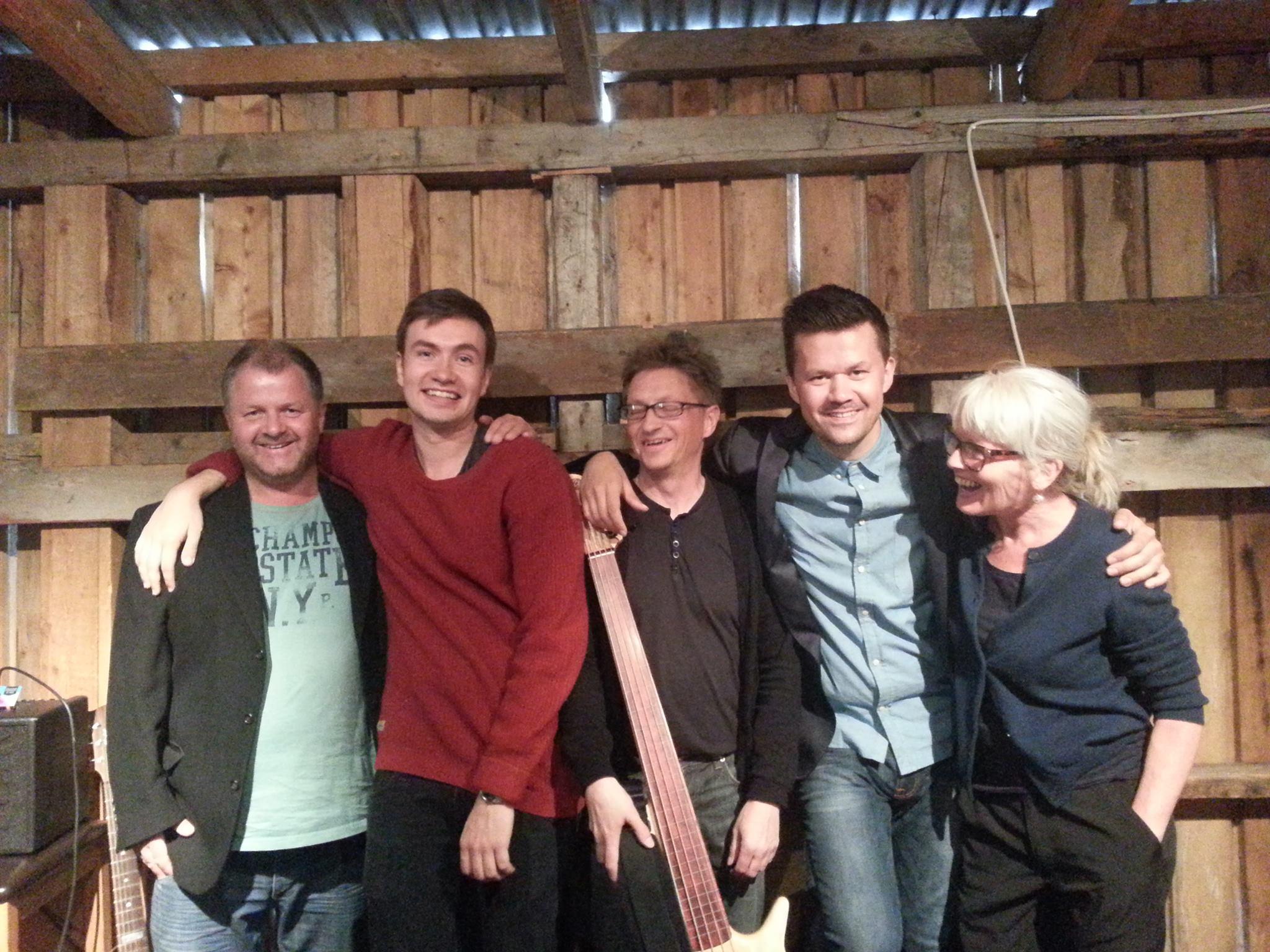 Marit Sandvik Concept på Ersfjorddagen 2013, med Trond Sverre Hansen, Adrian Danielsen, Stein Olav Pedersen,Stein Medby, MS.