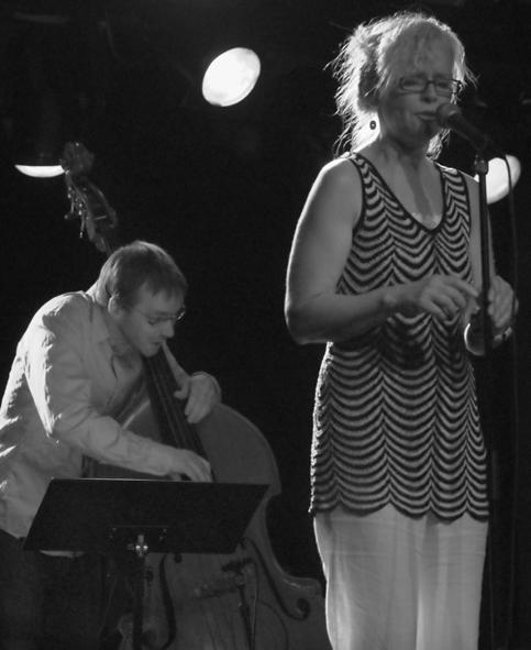 Marit Sandvik Band, Tromsø 2008. Ole Marius Sandberg - bass. Foto: Lene Foss