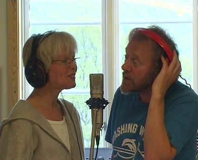 """""""Du ber om en sang"""", med Jan Arvid Johansen 2002."""