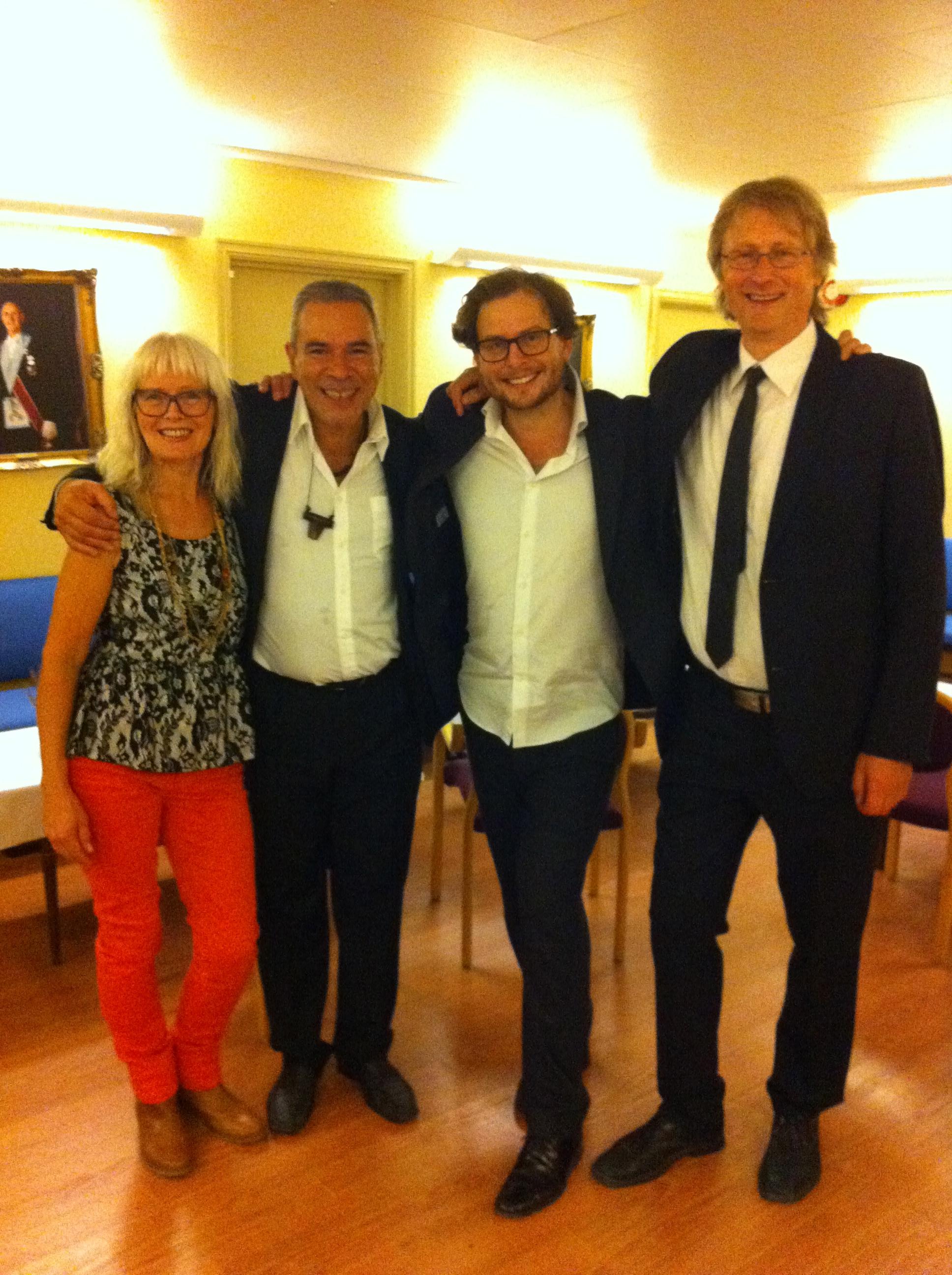 MS, Celio de Carvalho, Ola Rokkones, Øystein Norvoll, 2013.