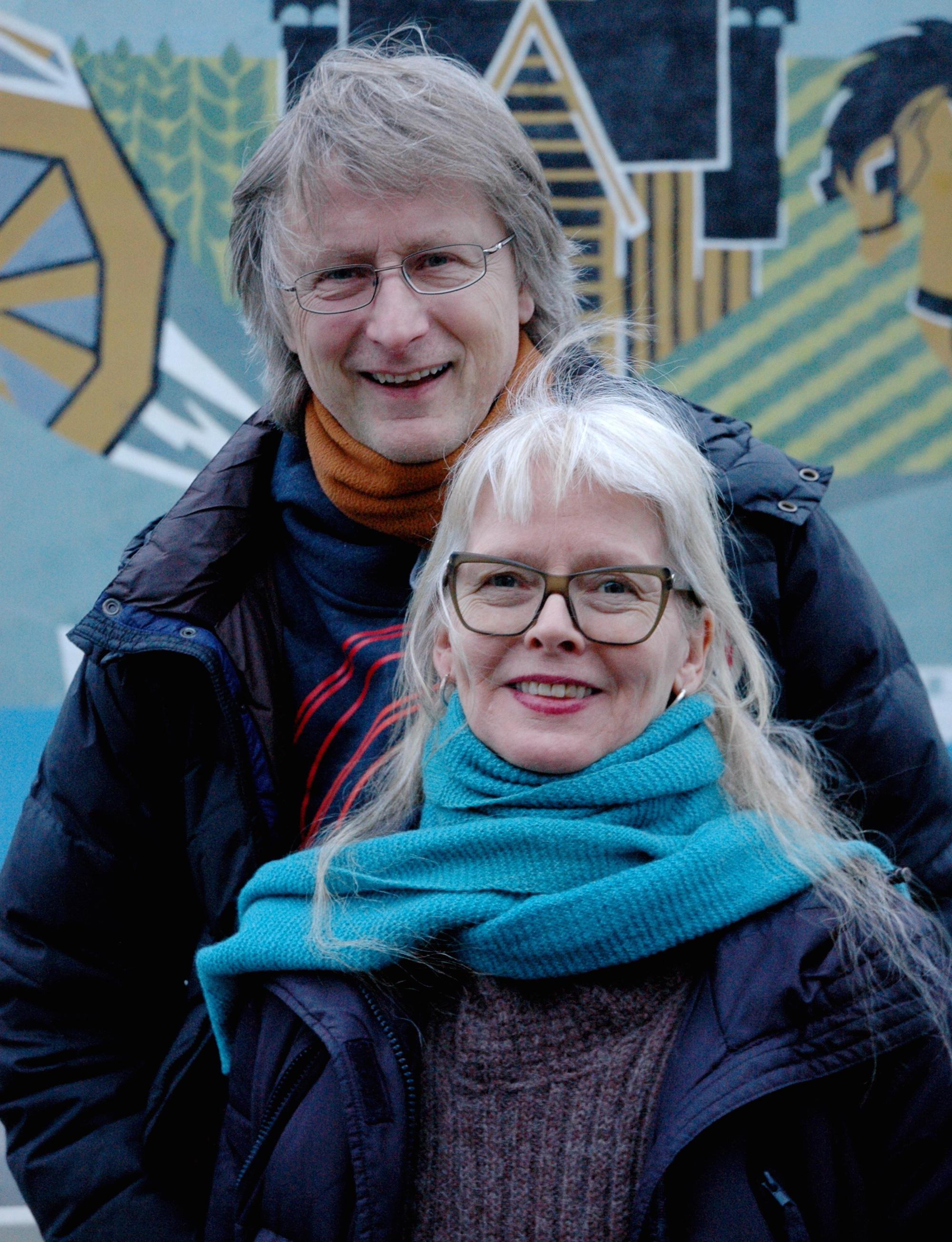 Marit Sandvik & Øystein Norvoll   Foto:Per Ivar Henriksbø   Trykk for å laste ned i full oppløsning
