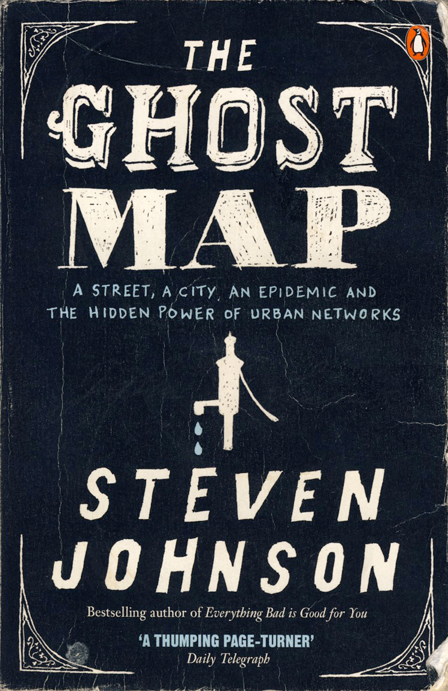 Cover image of Ghost Map by Steven Johnson.