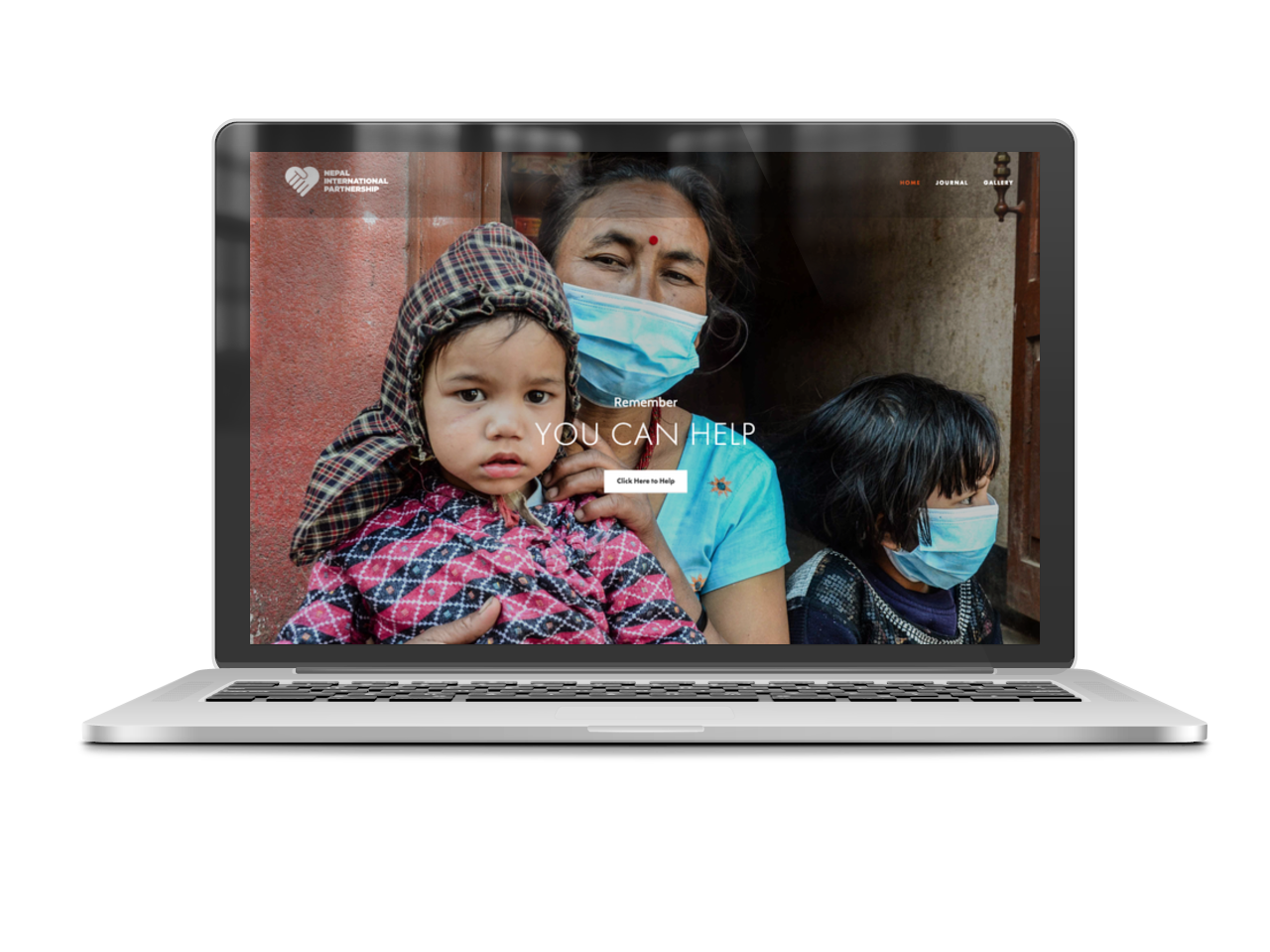 Nepal Website Design Charity Free