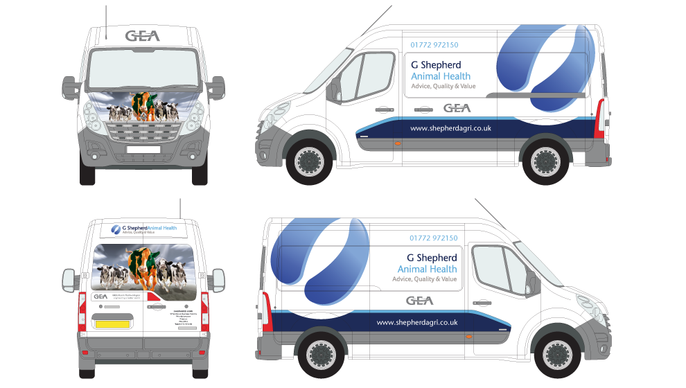 G Shepherd Animal Health Van