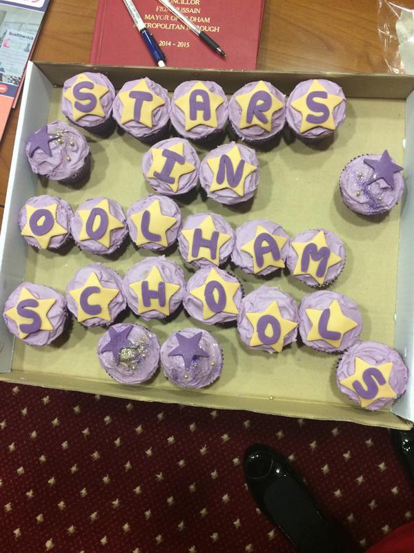 Stars in Oldham schools
