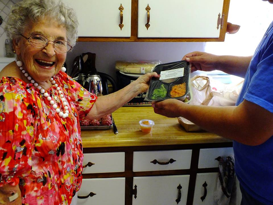 Each year, we deliver over 90,000 meals in Pima County through our Meals on Wheels program.