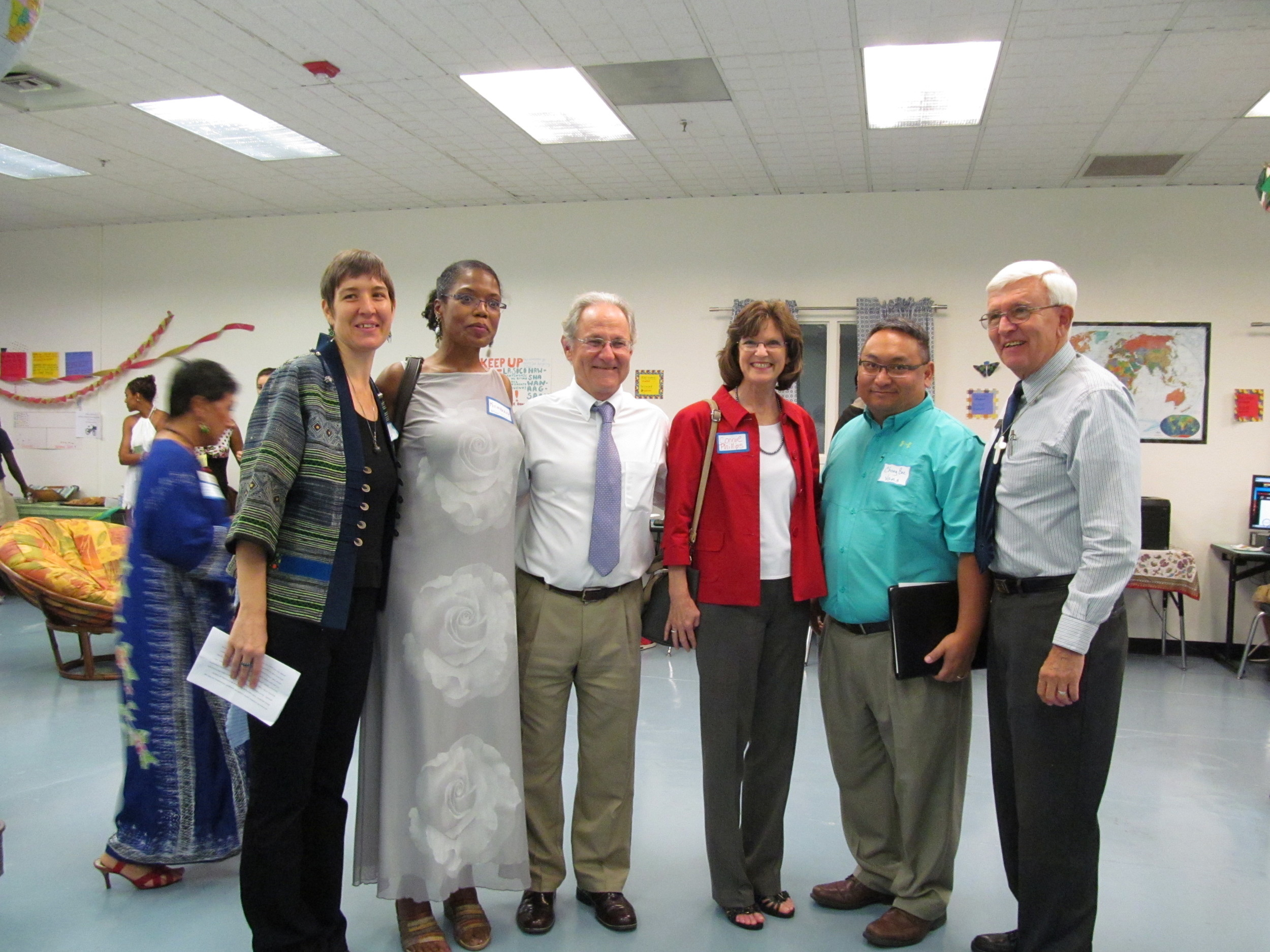 Mayor Rothschild at the CENTER grand opening