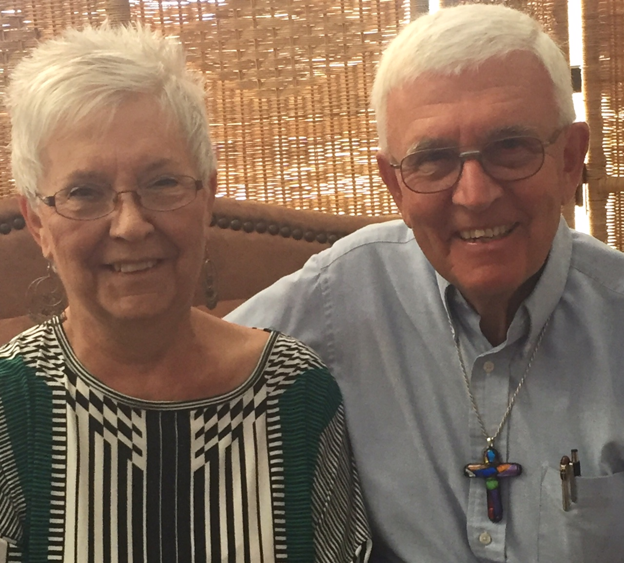 """We are humbly proud and excited to support a ministry that serves others with God's love in action.  We give thanks for the many thousands of  people served by Lutheran Social  Services of the Southwest in Jesus' name!""  -Judith Stieve, Retired RN and Small Business Owner and Rev. John Stieve, Board Member and Retired Pastor"