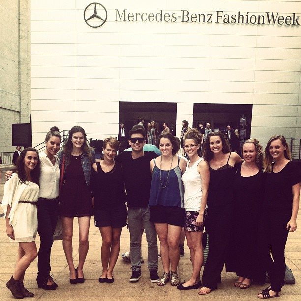With friends from Youth With a Mission LA at one of our outreaches to Fashion Week in NYC.