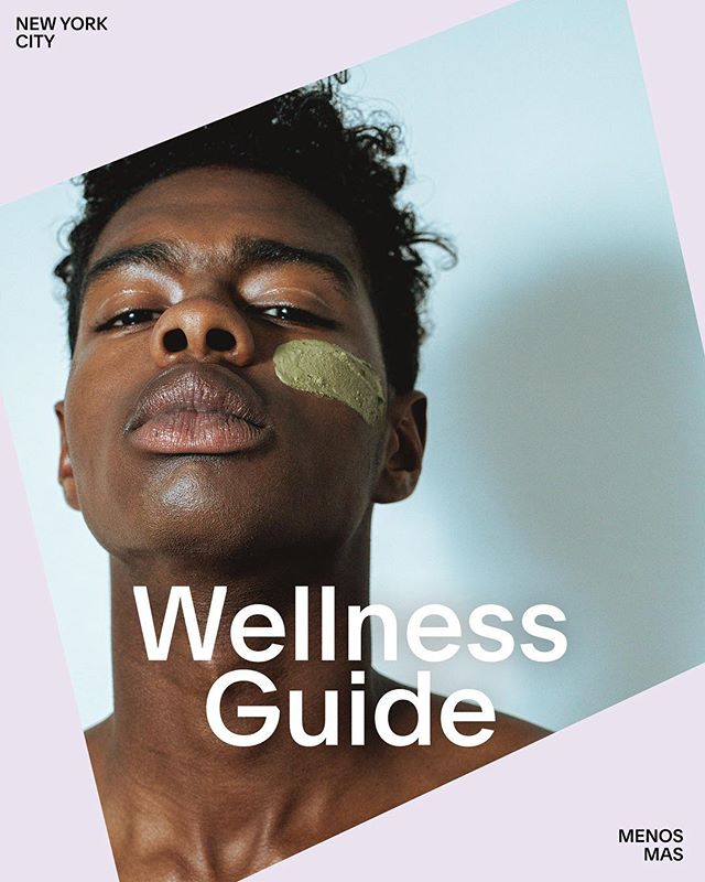 Our NYC Wellness Guide series concludes with @menos.mas, a genderfluid skincare brand with roots in the Bronx and Paris. Don't miss the full product lineup on their #Squarespace site.