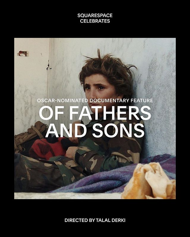 Ahead of the #AcademyAwards this Sunday, we're honored to celebrate three Best Documentary Feature nominees with websites powered by #Squarespace. Of Fathers and Sons is a documentary unlike anything that has come before it – a rare, intimate portrait of a Syrian family from award-winning filmmaker Talal Derki.