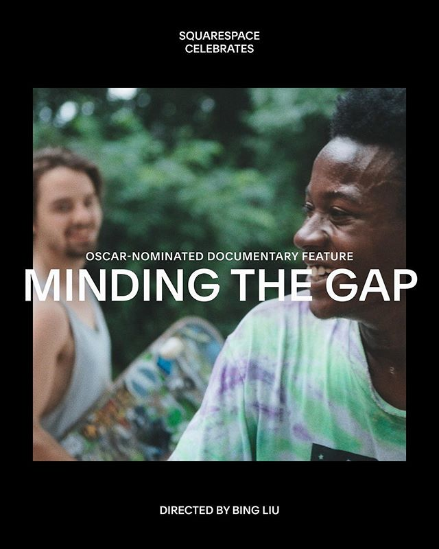 In #MindingTheGap – the third Oscar-nominated Best Documentary Feature that's powered by #Squarespace – newcomer director @bingliu89 turns the lens on himself and his two best friends in a remarkable exploration of masculinity, family, race and friendship. #SQSP #AcademyAward