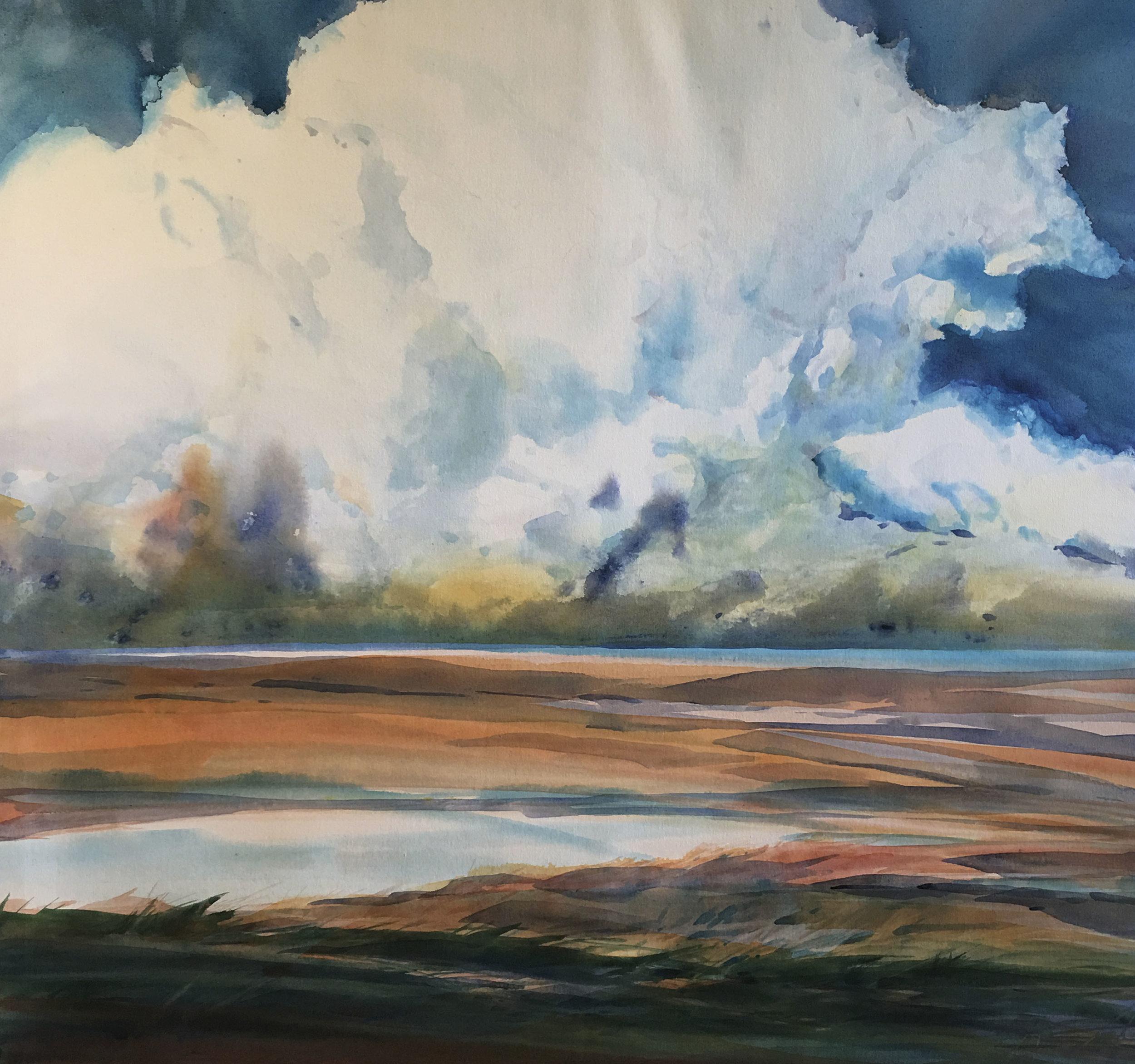 Cloudscape - 68 x 68 Acyrlic on Canvas13,800.00