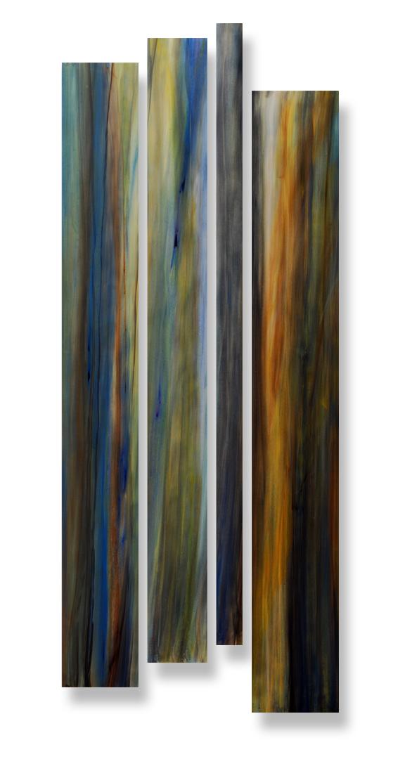 Old Growth | 106 x 54 Watercolor on Aquaboard | $9600