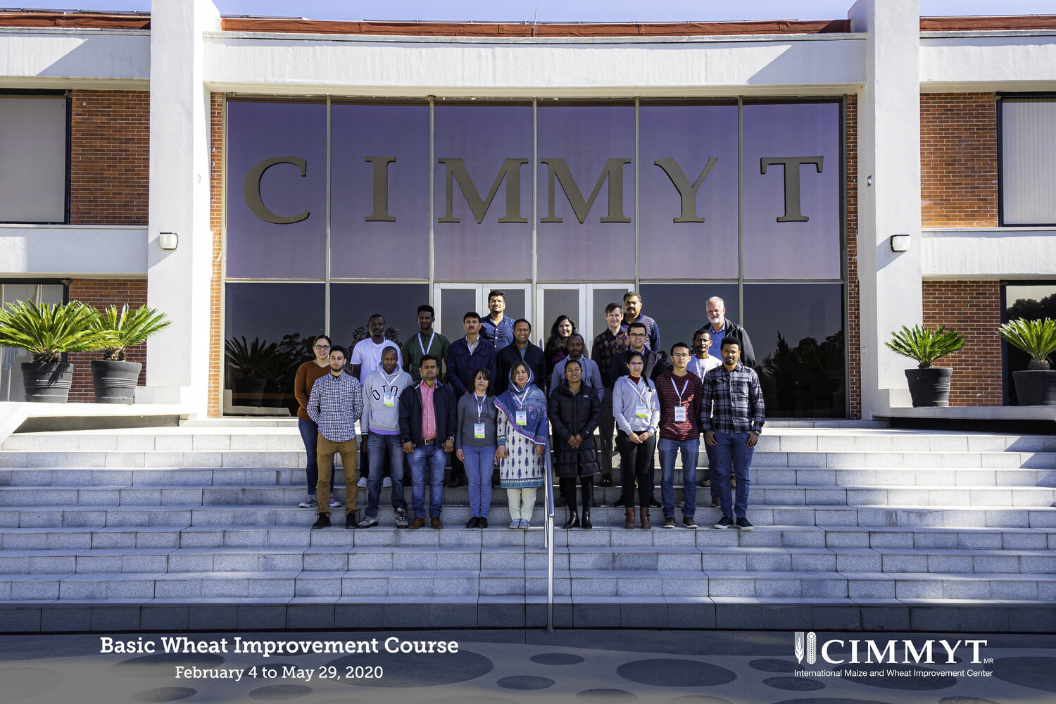2020 CIMMYT BWIC Trainee Group.