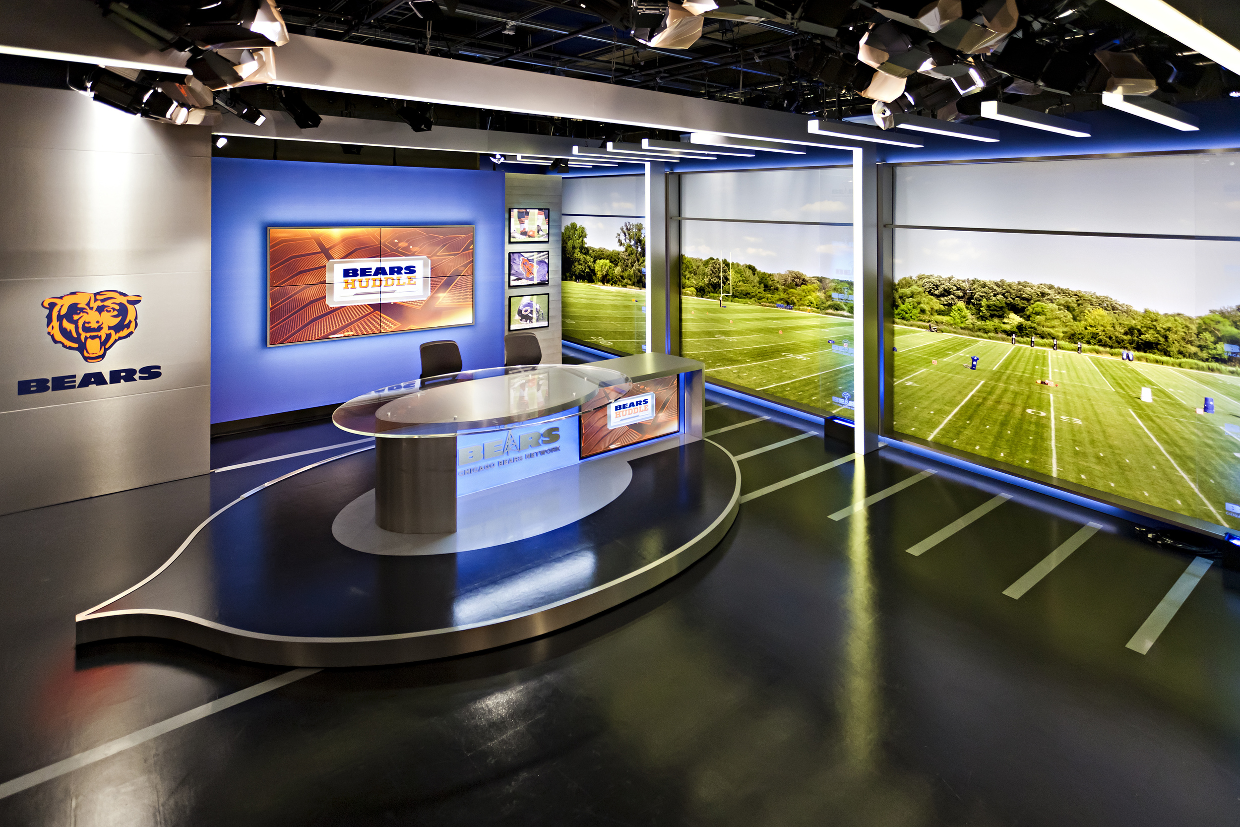 Chicago Bears Broadcast Studio Design