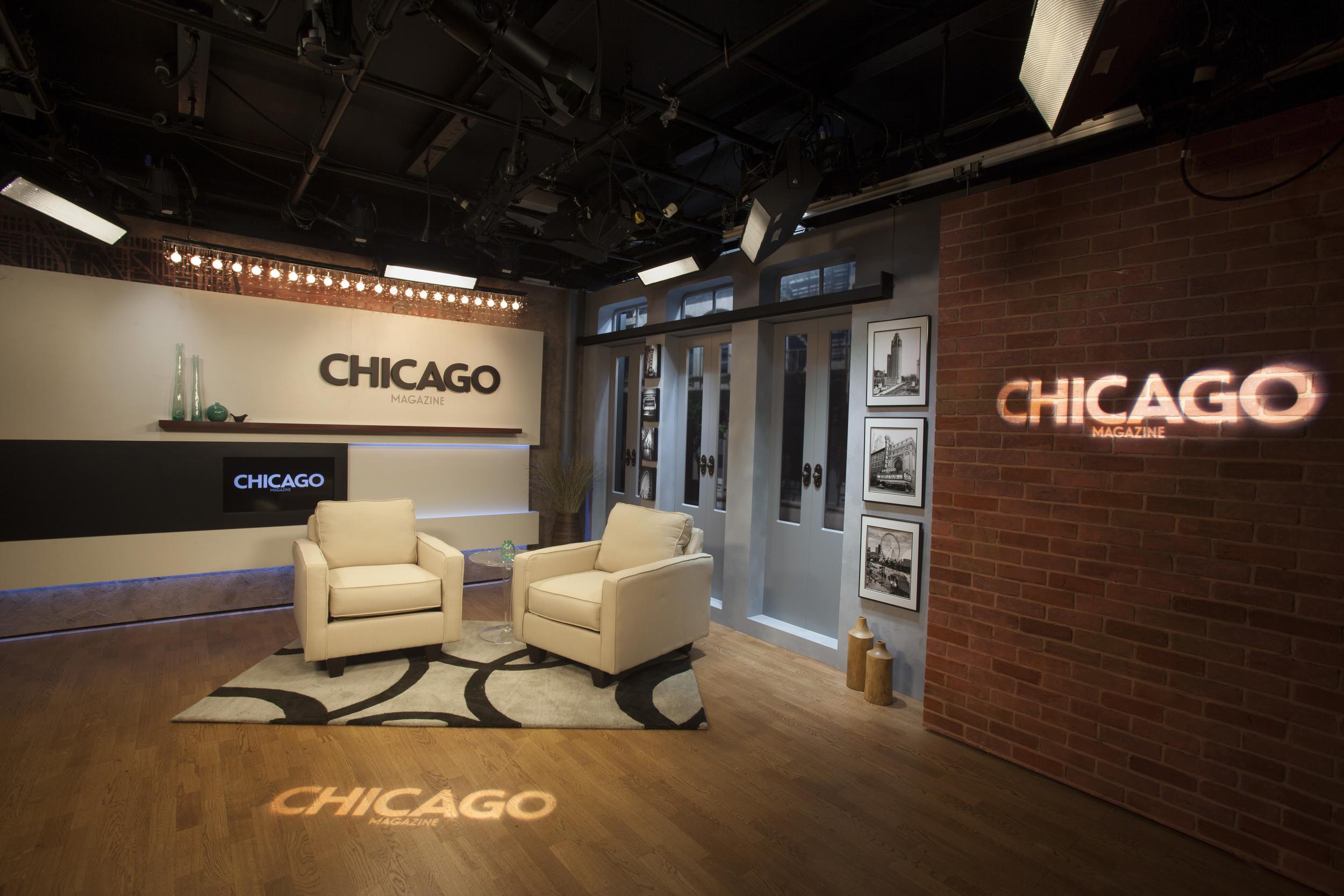 Chicago Magazine Broadcast Studio Design