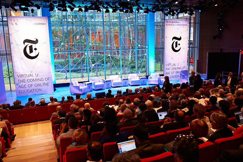 New York Times Schools Conference Branded Event Design