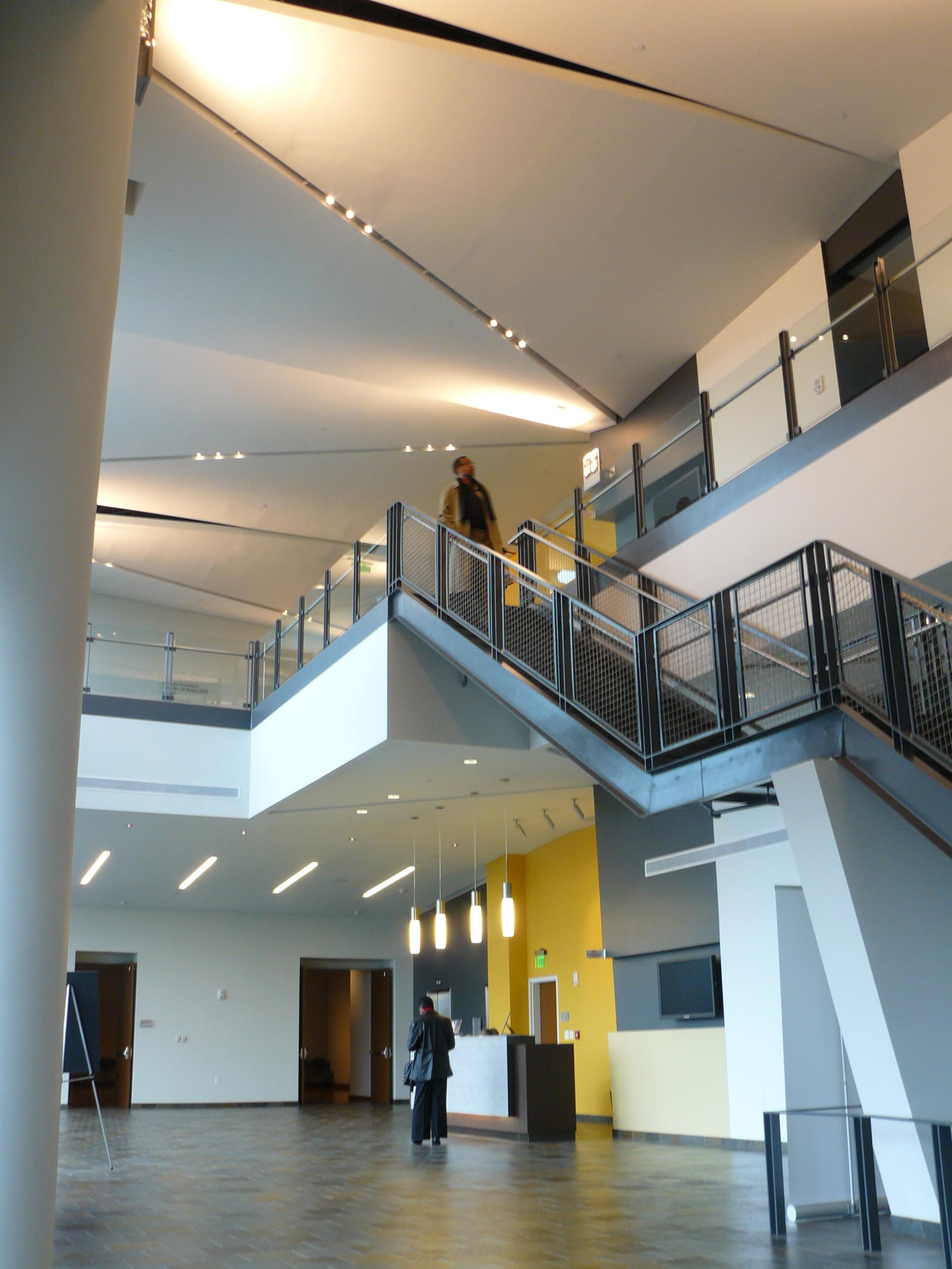 Gantt Cultural Center Interior Environments Design