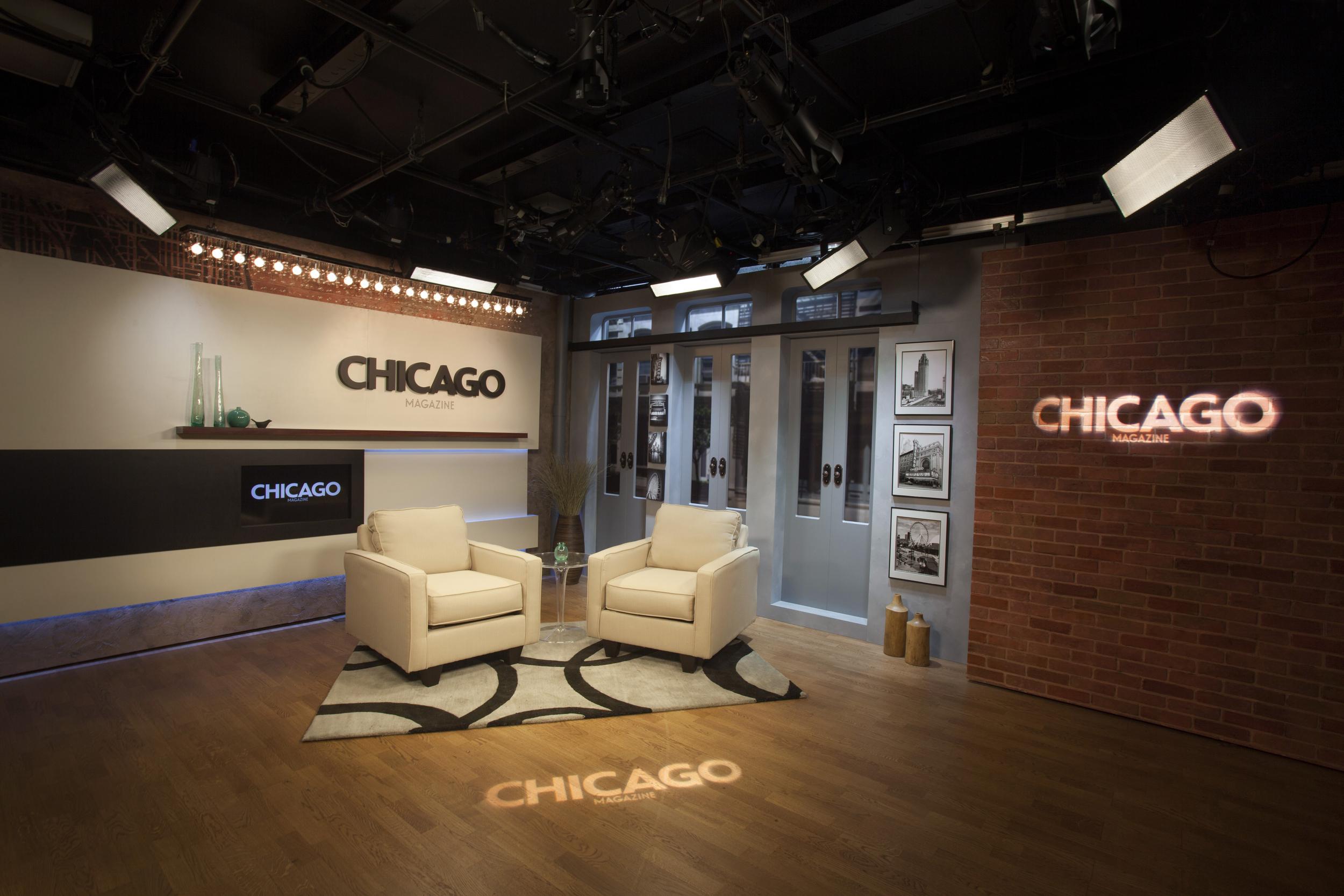 CHICAGO MAGAZINE + REDEYE WEBCAST STUDIO