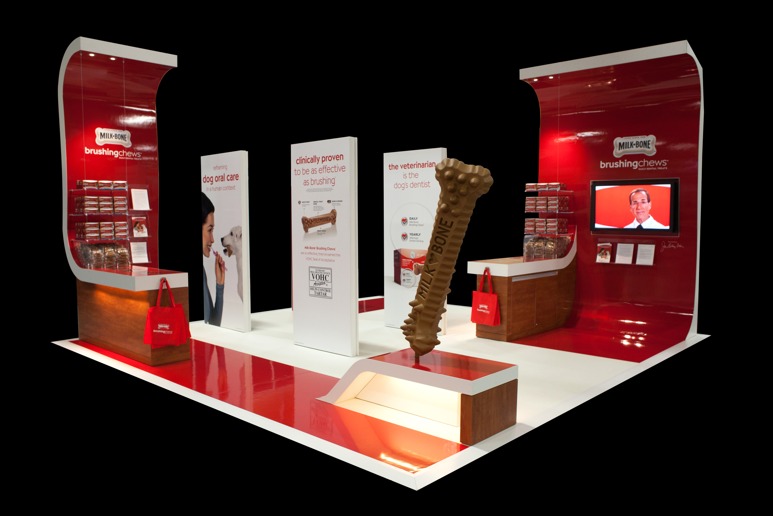 MILK-BONE BRANDED TRADESHOW BOOTH