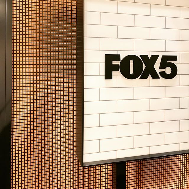 A few shots of the new studio launched and on-air! Stay tuned more to come. Congrats team @fox5ny and @mysticscenic #provoststudio #scenicdesign #interiordesign #broadcastdesign #broadcast #broadcastsetdesign