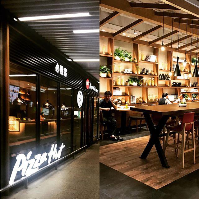 Nicest Pizza Hut EVER! #provostonthego #provoststudio #interiordesign #interiorarchitecture #brandexperience