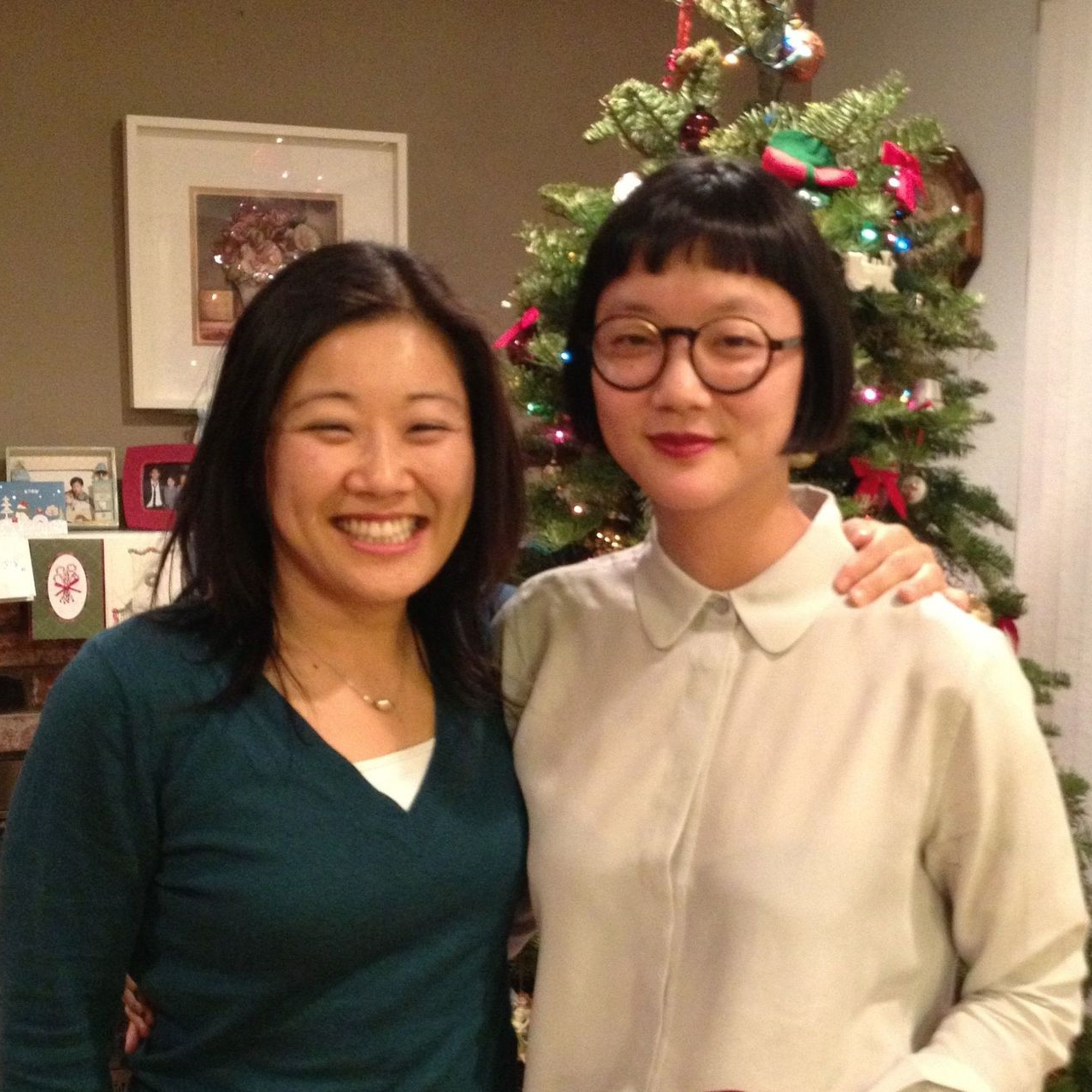 Christine Sun Kim    with Jayne Kim   REUNIFICATION  2014