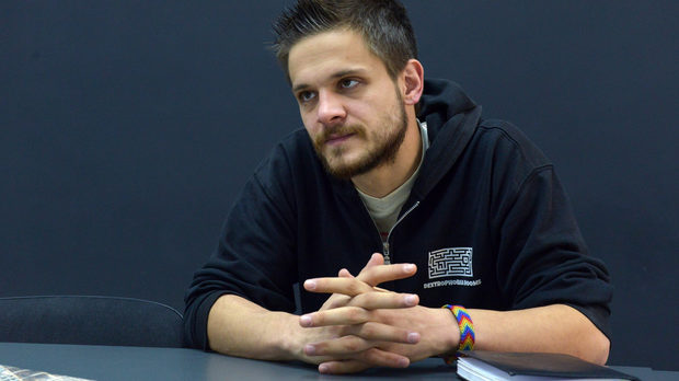 Aleksander Grozdanov  /   Dextrophobia    Gamification & Active Entertainment   Co-founder in Dextrophobia Rooms - the first and most successful real-life room escape games in Bulgaria. Aleksander's passion is in creating active entertainment commercial products and events by mixing various technologies, artists and gamification patterns.