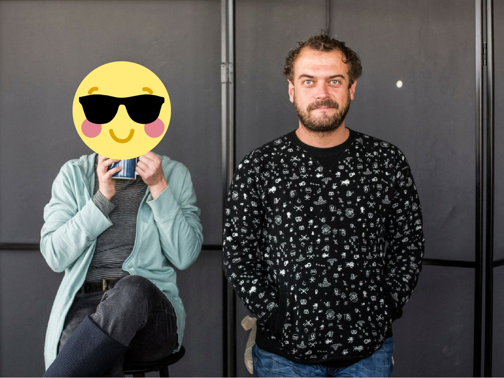 Evgeniya Syarova & Ivo Ivanov (YvesO)   (Climate change/Pollution)    Bad Habits  A fun, easy-to-use and anonymous platform to raise awareness of bad habits, inspire and vowel the community to be part of a collective solution to effective resource consumption. The app introduces bad habits as a resource – the same way we have to use waste as a resource and integrate it in into our everyday life thinking. The feelings of empathy and self-observation are core for this project, and are awoken by offering the user to share bad habits and compare them locally and globally with other users from the bad habit crowd.