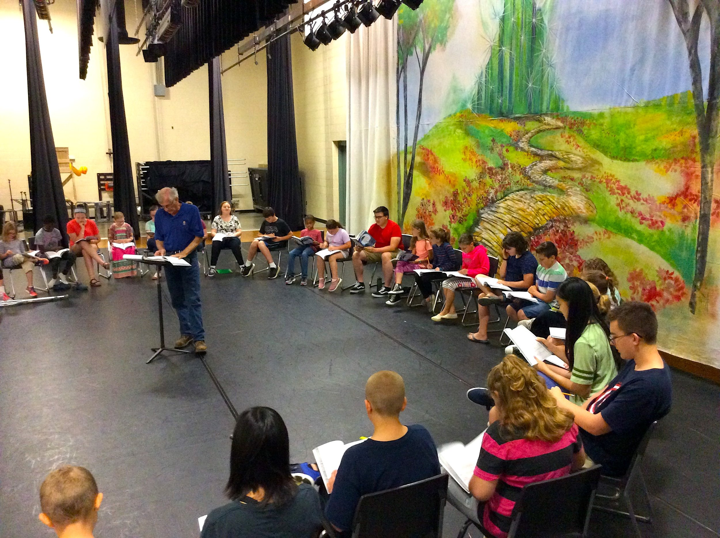 Mary Poppins Jr. Summer Theater Intensive, Summer 2019