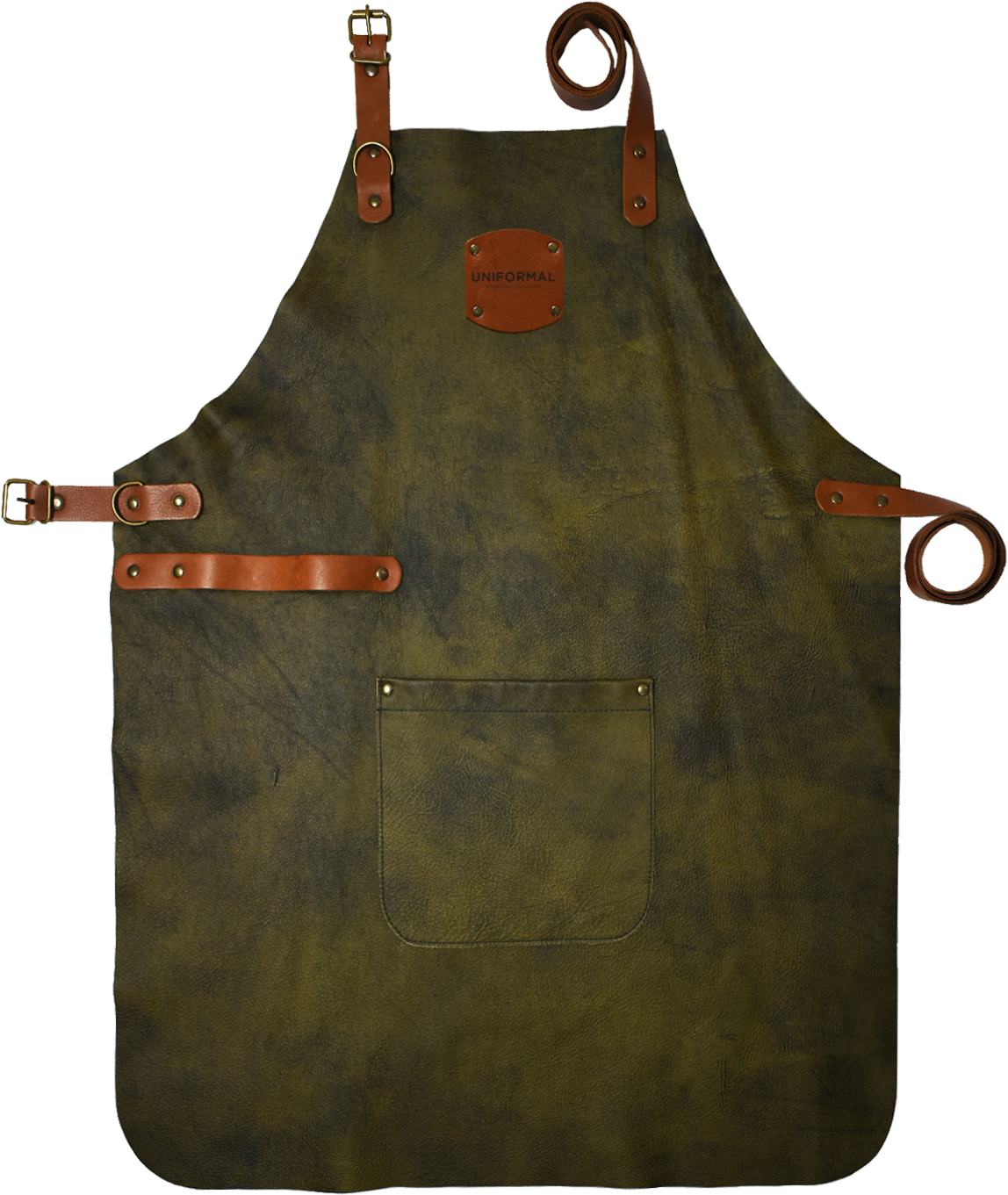 Olive-Leather-Bib-Apron-Full.png