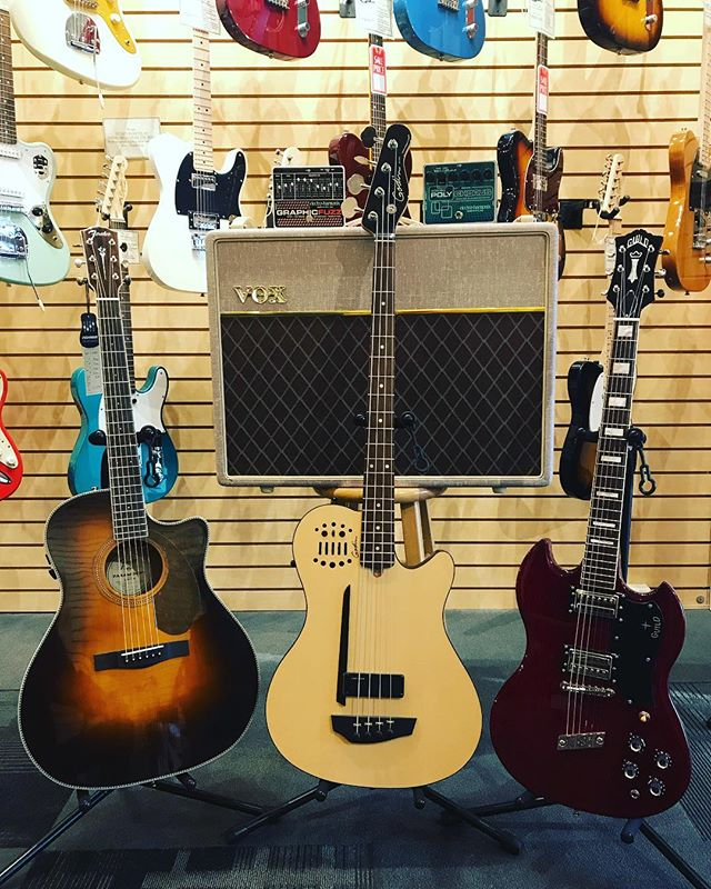The DGL Spring Sale is here!  Stop in this month to check out deals on brands like Fender, Guild, Godin, Ibanez, EHX and Vox 🎸🔊🎸🔊