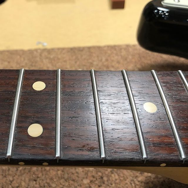 I like my frets crowned and round all year 'round so come 'round for the best sound...you down?