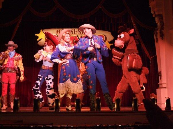 """Diamond Jim """"Horseshoe Roundup"""" Tokyo Disney Resort"""