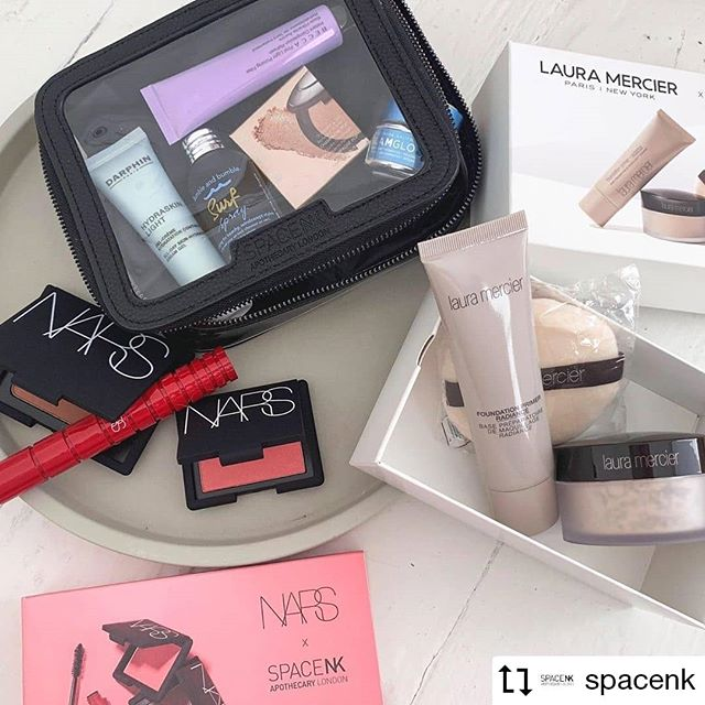 #Repost @spacenk · · · · Have you shopped our #NdulgeSummerEvent yet?☀️ AMAZING gift sets from the likes of @LauraMercier, @NARSissist & @EsteeLauderCompanies all under £100! . . . #SpaceNK #Beauty #Makeup #Skincare #Gift #Travel #Sets #LauraMercier #NARS #EsteeLauder #Becca #Glamglow #Darphin #luxurypackaging #packaging #giftbox #london #ldn #print #giftset #gifted #summer #theabsolutegroup