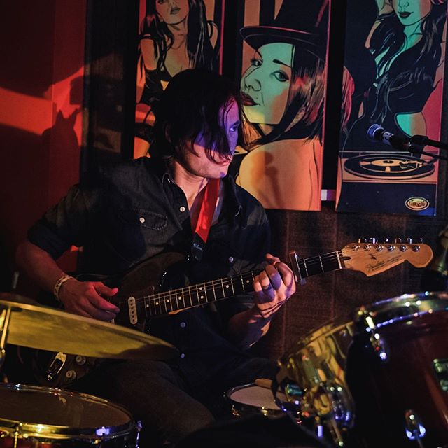 Wild in the Rock, Soulful in the Roll. #rock #rockandrollers #drums #guitar #piano #rockers #Nj #Ny #Nashville  PHOTO CREDIT: @insirchof